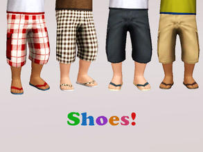 Sims 3 — punie_mpshoes_006 by punie — 2 recolorable areas.