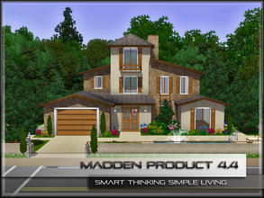 Sims 3 — MaddenProduct 4.4 (Furnished) by MaddenPro — MaddenPro 4.4 @ TSR,Enjoy it Fully Furnished Requires Only Base