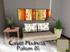 Sims 3 —  by SugoiZiua2 — Carpet Madness Pattern n6 You can find it under Weave and wicker patterns.