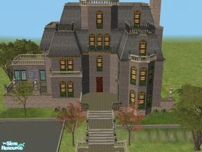 Mod The Sims - Victorian Murder Nightmare-For a haunted house or ...