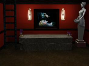 Sims 3 — A Vampire's Kiss by spitzmagic — A Vampire's Kiss
