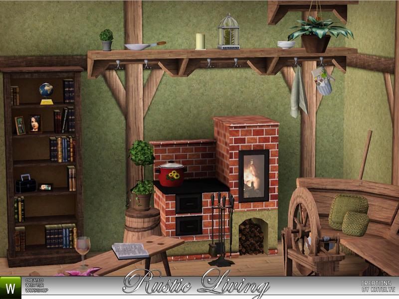 Katelys Rustic Living Wood Stove