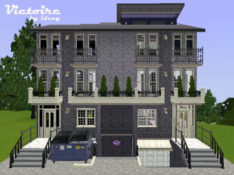 Idzny 39 s victoire apartment nocc for Apartment design sims 3