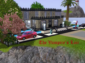 Sims 3 — The Vampire's Lair by spitzmagic — Please come in. Pull off your shoes and stay awhile. Make yourself at home.