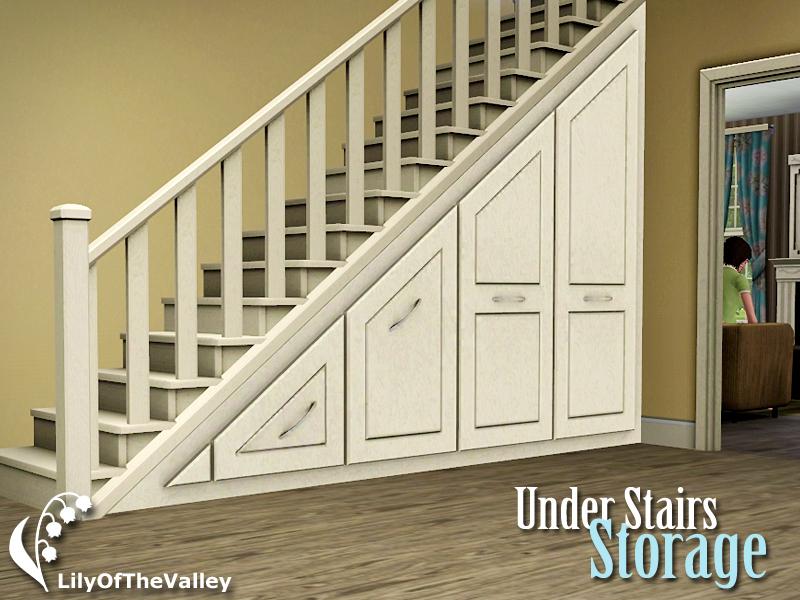 Under Staircase Storage lilyofthevalley's under stairs storage