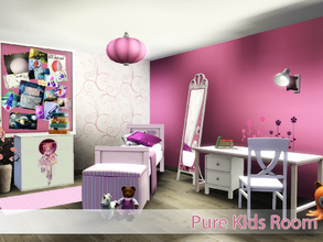 Sims 3 — Pure Kids Room by Angela — Pure Kids room, for kids before they turn teens. Set contains: Bed, Decorative