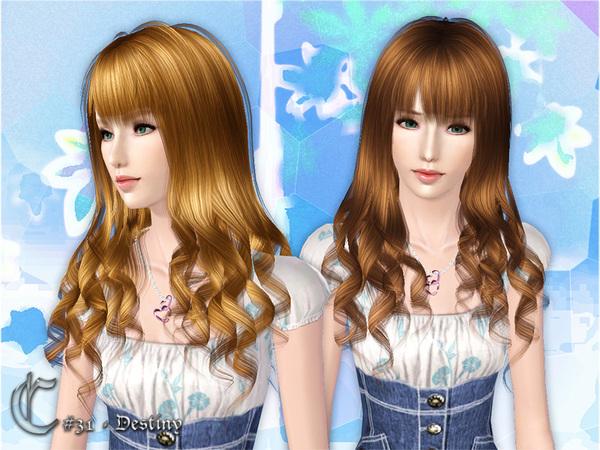 Cazy S Destiny Hairstyle Female