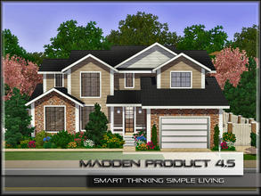 Sims 3 — MaddenProduct 4.5 (Furnished) by MaddenPro — MaddenPro 4.5 @ TSR,Fully Furnished,Enjoy it. Requires ONLY Base