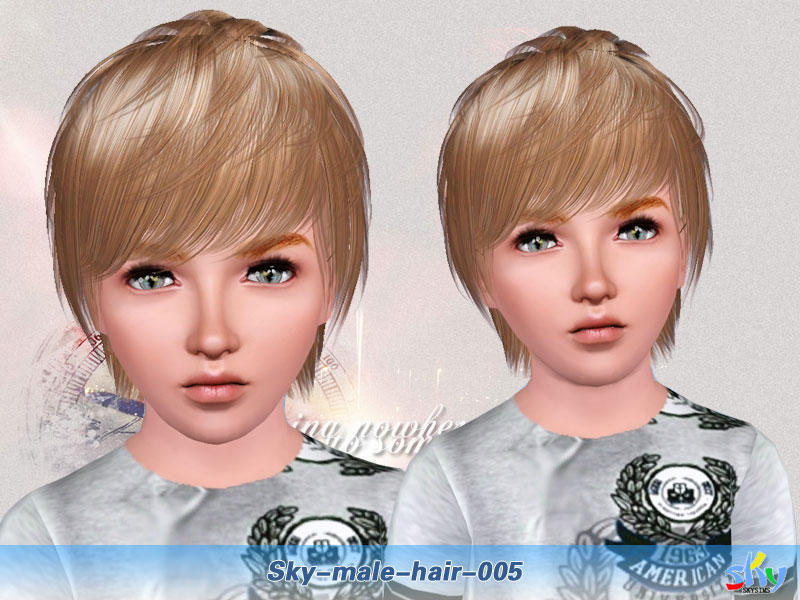 Skysims Hair 005 Child