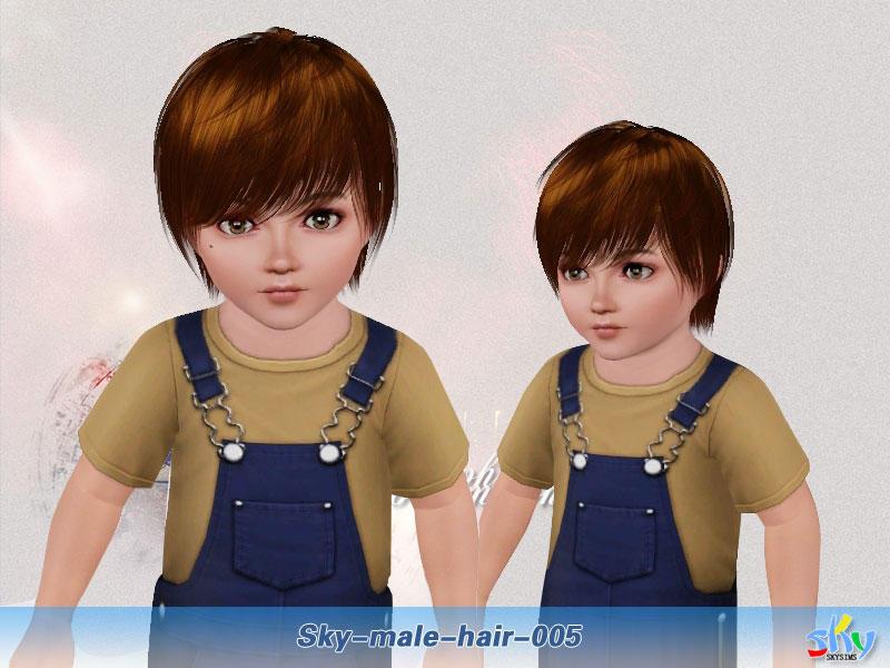 Skysims Hair 005 Toddler