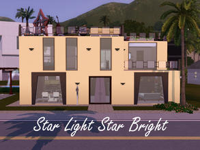 Sims 3 — Starry Way by spitzmagic — A perfect small 2 bedroom 2 bathroom for an aspiring star or 2. Right in the heart of