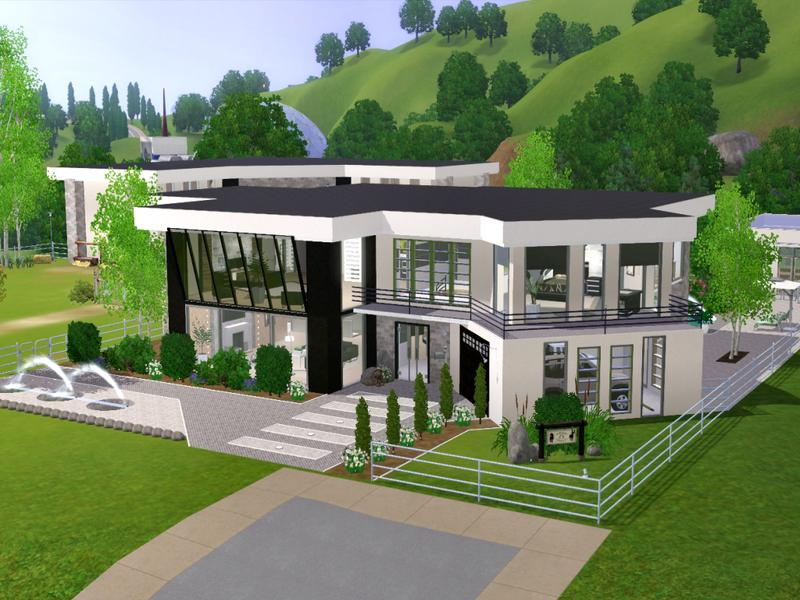 chemys Silva Modern Ranch : w 800h 600 2030653 from www.thesimsresource.com size 800 x 600 jpeg 82kB