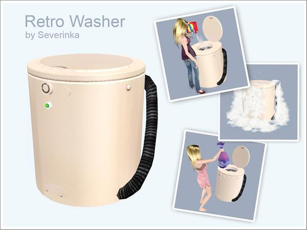 Severinka S Retro Washer