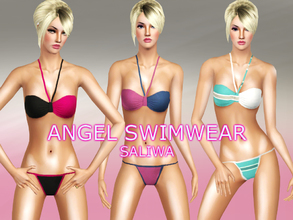 Sims 3 — Angel Swimwear  by saliwa — Angel Swimwear for Elegant Days. Color it with different styles. Enjoy!