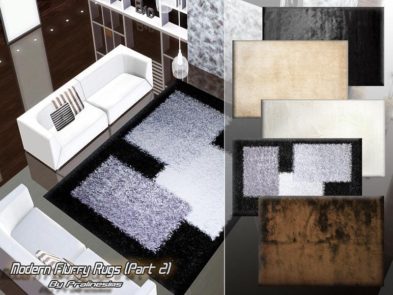 modern fluffy rugs 2 - Fluffy Rugs