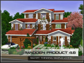 Sims 3 — MaddenProduct 4.6 (Furnished) by MaddenPro — MaddenPro 4.6 @ TSR,Enjoy it,Fully Furnished,Summer Villa Requires