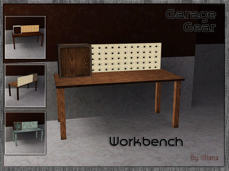 Neighbors Woodworking Bench Sims Freeplay
