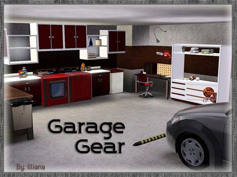 Illiana 39 s garage gear for Sims 4 garage
