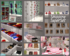 Sims 2 — Shopping SuperSet by DOT —
