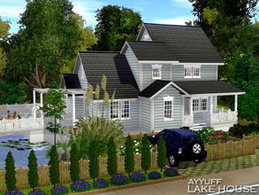 Sims 3 — Lake House _Furnished_ by ayyuff — 30x30 fully furnished and decorated house with 2 bedrooms,2 baths..