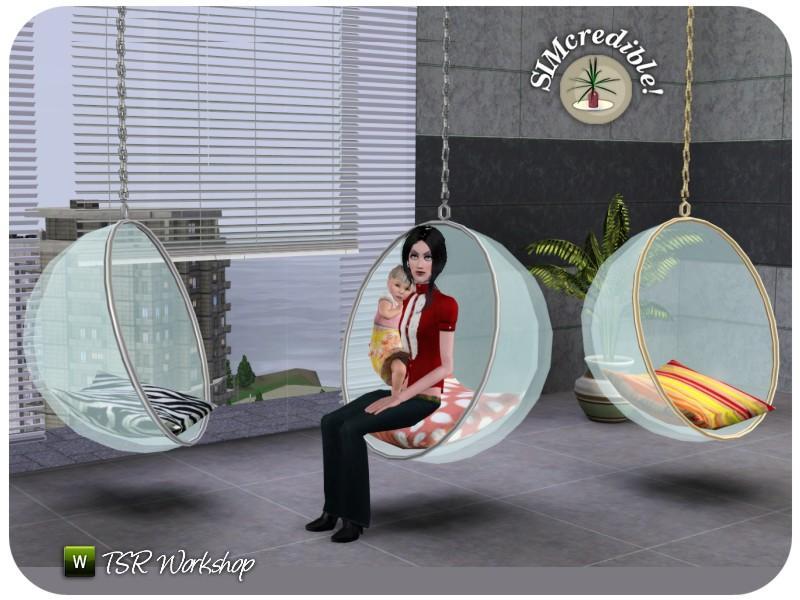 Simcredible S Terrace Egg Chair
