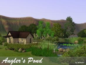 Sims 3 — Angler's Pond by Wimmie — Hi, this is my Angler's Pond. I've built it in Appaloosa Plains, Eukalyptusstrasse 37.