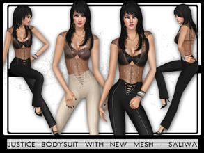 Sims 3 — Justice BodySuit by saliwa — Saliwa-The Sims Resource Download shoes from here: