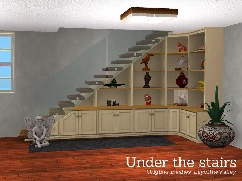 Angelas Under The Stairs Shelving