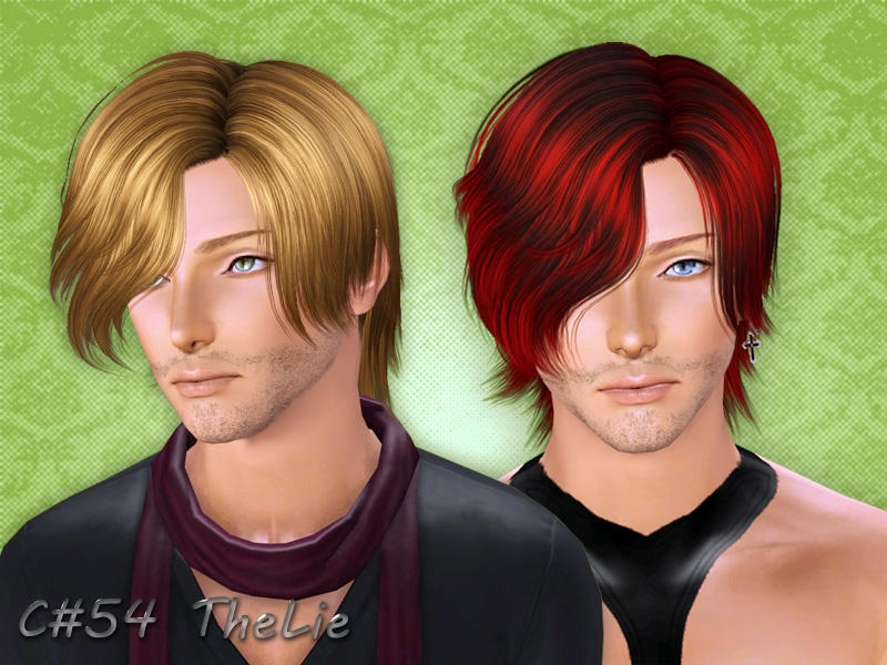 Cazys Thelie Hairstyle Male