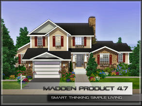 Sims 3 — MaddenProduct 4.7 (Furnished) by MaddenPro — MaddenPro 4.7 @ TSR,FullyFurnished,American Country House,Enjoy it