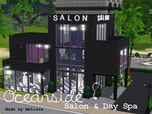Mlssmlny 39 s oceanside salon day spa for Salon moderne sims 4
