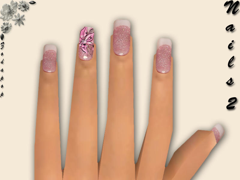 Free Sims 2 Accessories - \'nails\'