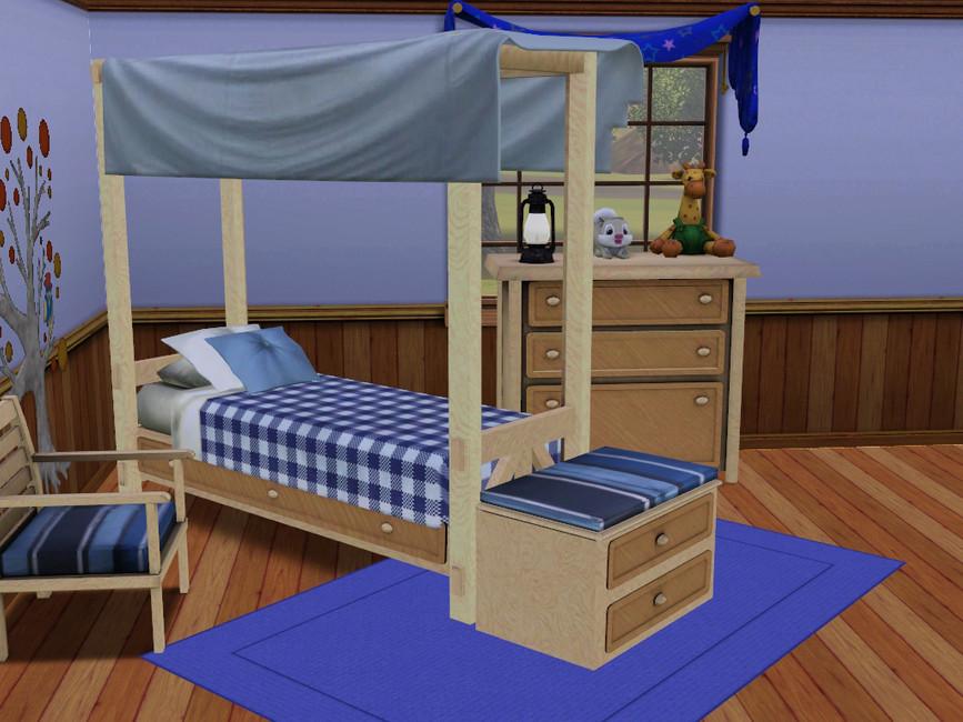 Lulu265's Rustic Kids bedroom