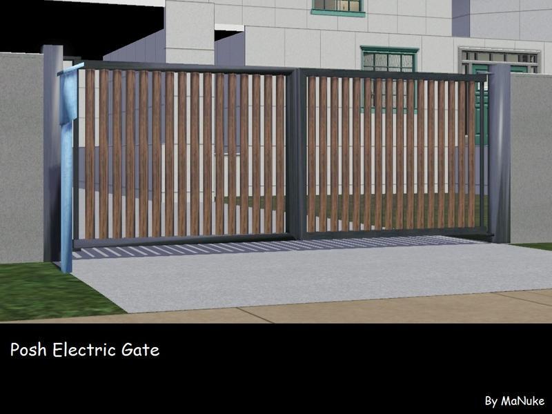 Manuke s posh electronic gate