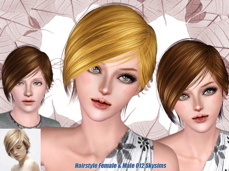 Skysims Hair 012