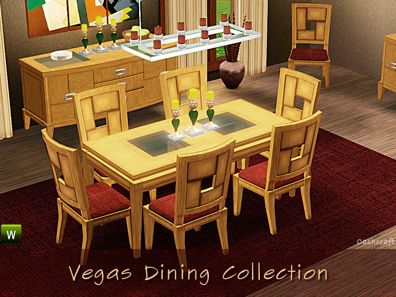 cashcraft 39 s vegas dining table. Black Bedroom Furniture Sets. Home Design Ideas