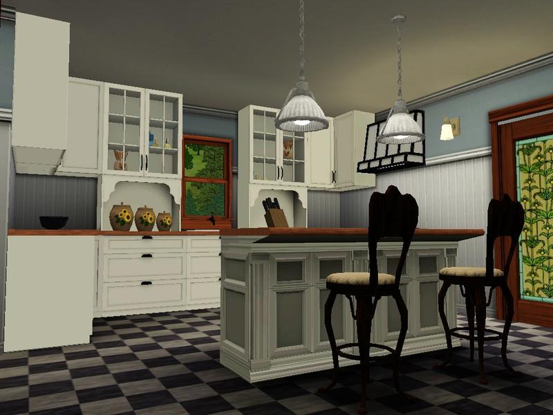 Jguy10283 39 s classic american foursquare for Classic american house interior