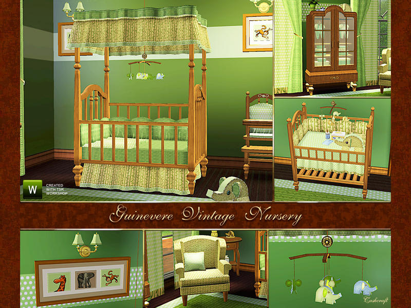 Cashcraft S Guinevere Vintage Nursery Fixed