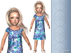 Sims 2 — Three summer dresses for toddlers - 5f9cbd38 April28dress8 by giasims — Blue dress