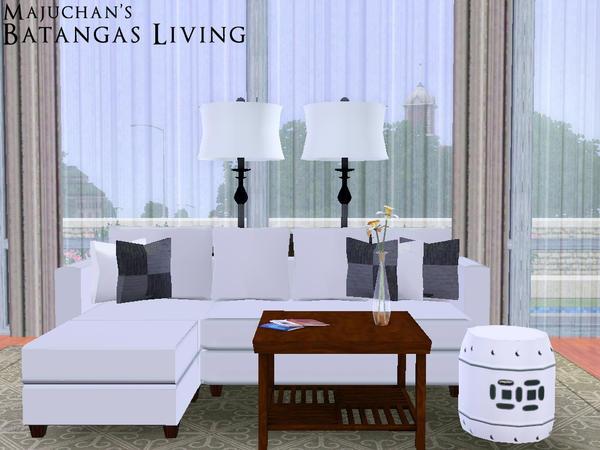 Majuchan 39 s batangas living for 3 star living room chair sims