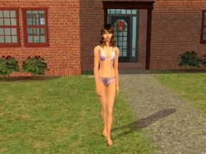 Sims 2 — Diamonds by Silerna — A flashy swimwear for adult females