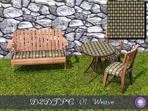 Sims 3 — D2DTCP Weave by D2Diamond — Texture Pattern Challenge; Weave. Find the rest of the collection at D2Diamond @