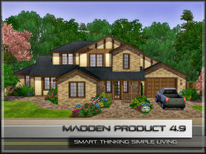 Sims 3 — MaddenProduct 4.9 (Furnished) by MaddenPro — MaddenPro 4.9 @ TSR,Fully Furnished,Enjoy it Requires ONLY Base