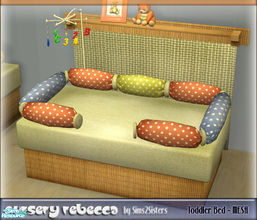 Sims 2 — Toddler Bed - Mesh by sims2sisters —