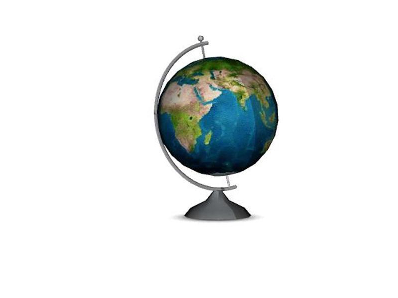 Lulu265 39 S Whitewood Home Office Decor Globe