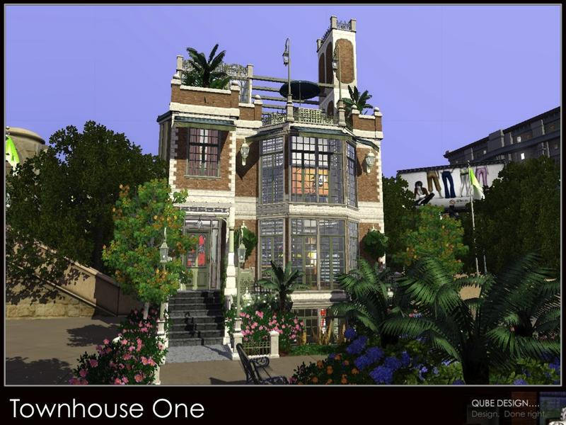 Qubedesign S Townhouse One 10x10