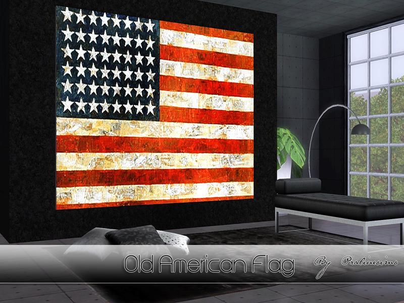 Pralinesims Old American Flag