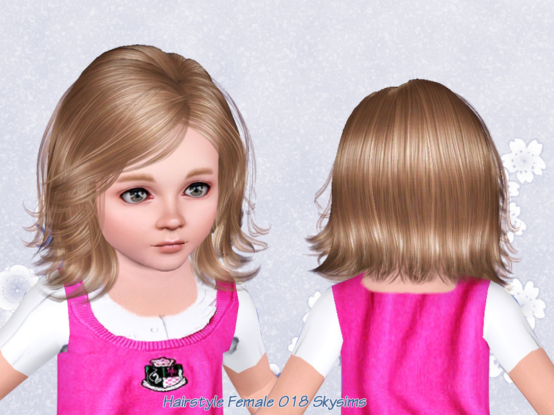 Toddler Hair Style: Skysims-Hair-018-Toddler