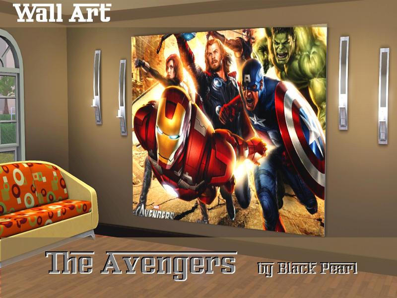 Black Pearl 39 S The Avengers Wall Art