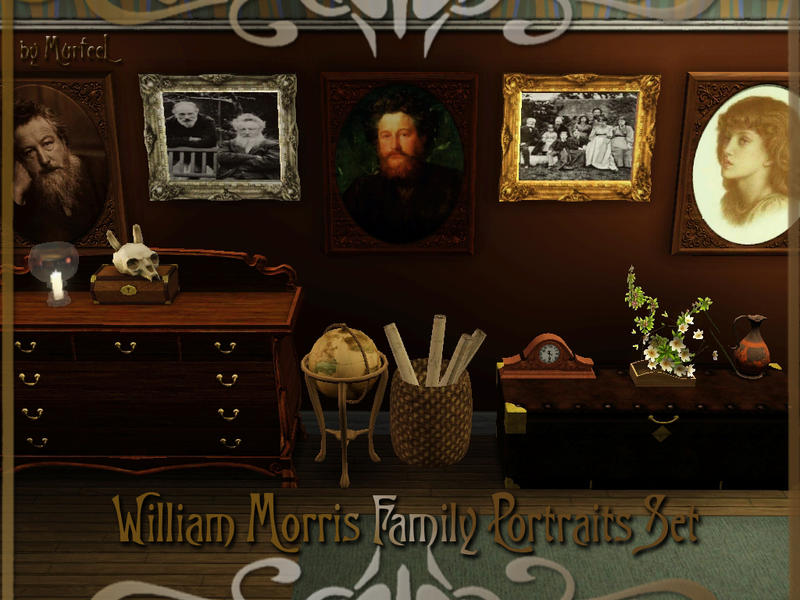 murfeel's William Morris Family Portraits Set